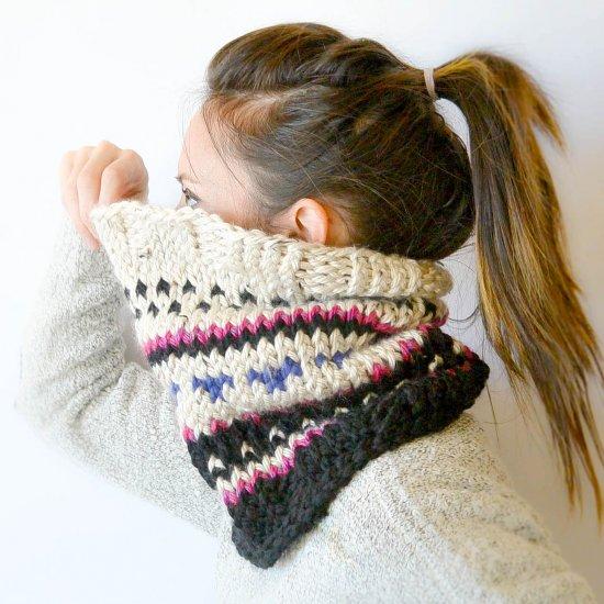 Alpine Heights Knit Cowl