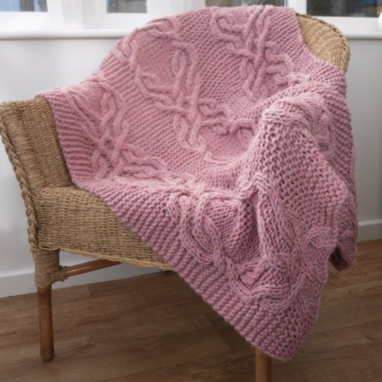 Cable Lap Blanket Knitting Pattern Craftgawker
