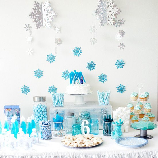 Frozen Birthday Party Decorations Diy Home Design 2017
