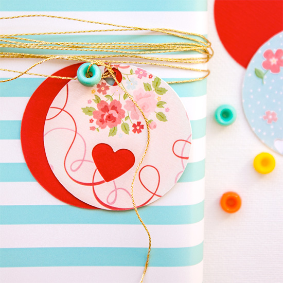 DIY Valentine's Gift Tag