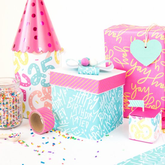 How to Make Personalized Gift Wrap