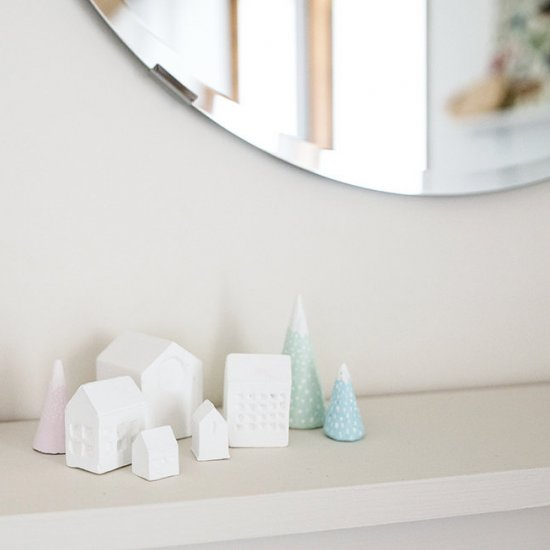 DIY MINIATURE MOUNTAINS AND HOUSES