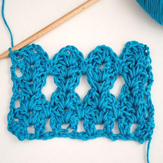 How to crochet Hugs stitch