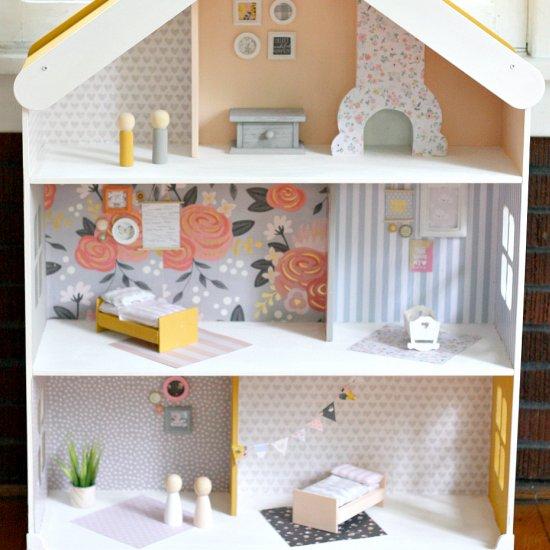 modern dollhouse furniture. diy modern dollhouse furniture