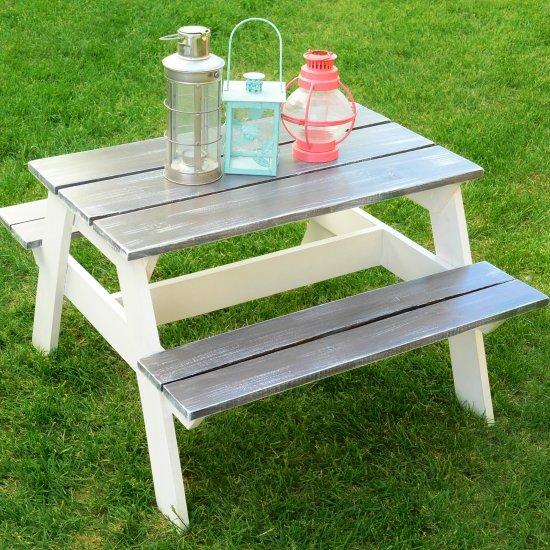 Diy Children S Picnic Table Craftgawker