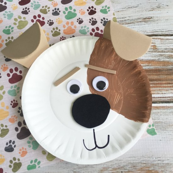 ... Max Dog Paper Plate Craft & paper plate gallery | craftgawker - page 3