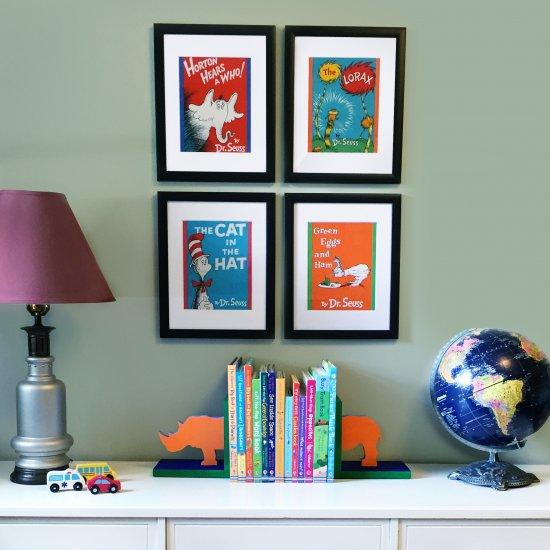 framed fabric wall art | craftgawker