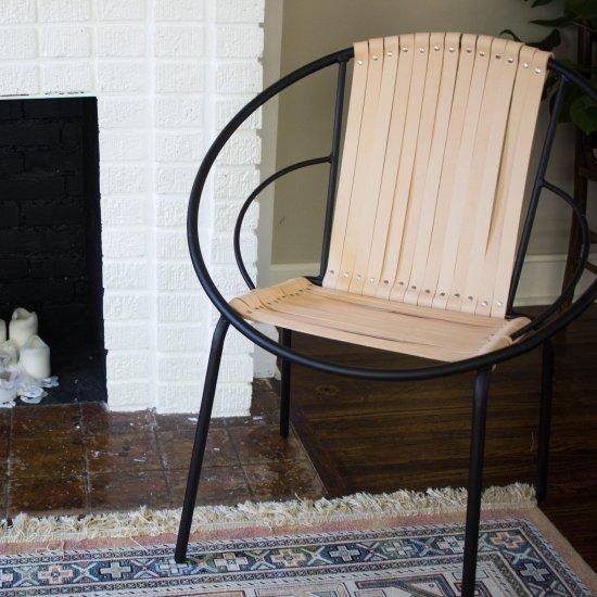 ... DIY Leather Acapulco Chair