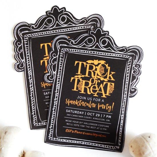 halloween invitations gallery | craftgawker