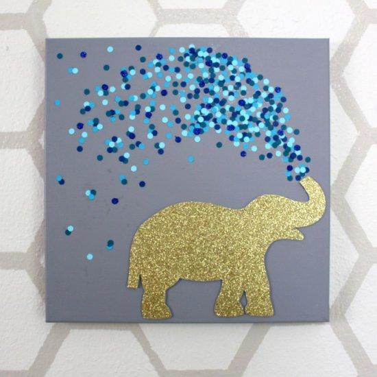 30 Minute Elephant Canvas Art