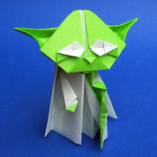 Origami Yoda Craftgawker