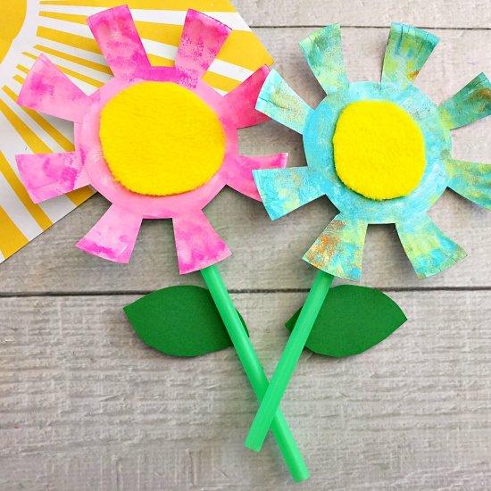 ... Paper Plate Flowers Kids Craft  sc 1 st  Craftgawker & paper plate gallery | craftgawker - page 2