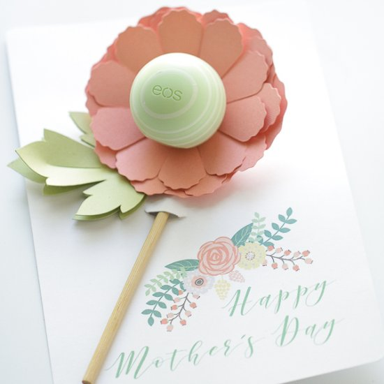 Mother's Day Lip Balm Flower Gift