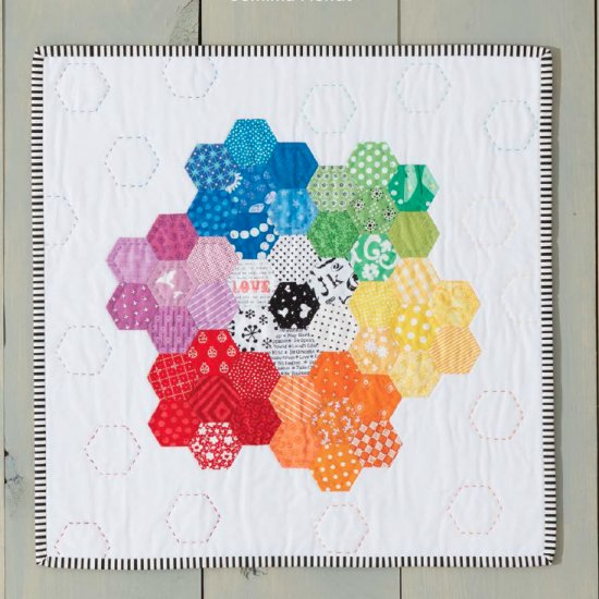 Hexagon Mini Quilt