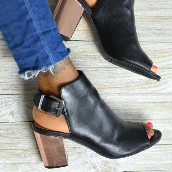 DIY Metallic Heels