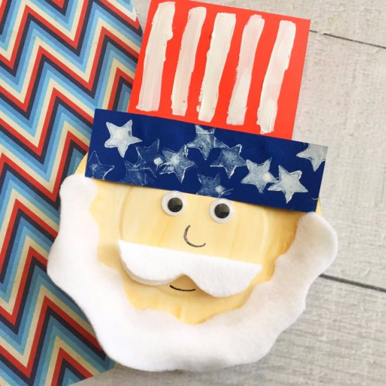 ... Uncle Sam Patriotic Kids Craft & paper plate crafts gallery | craftgawker