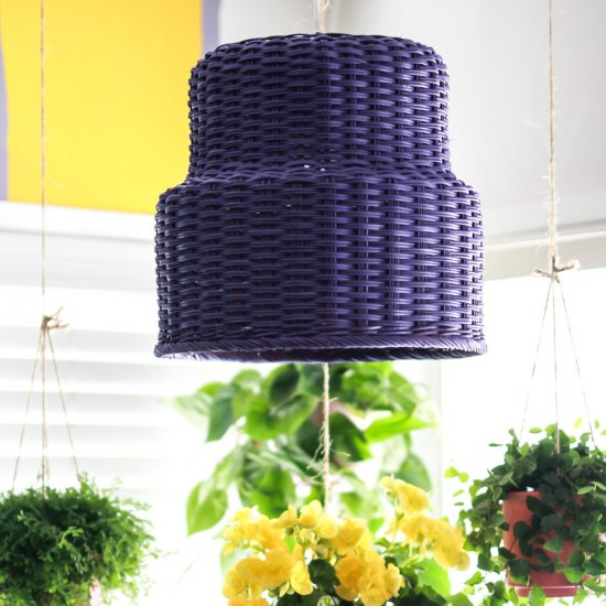 From a Basket to a Lamp