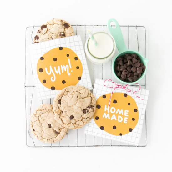 Printable Cookie Pouches