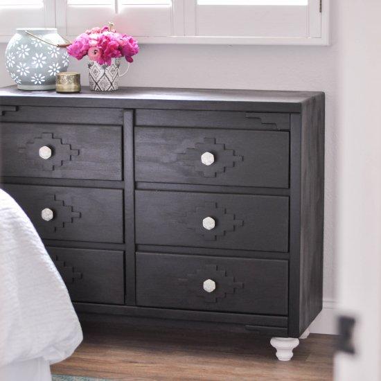 Fun & Easy Painted Dresser DIY