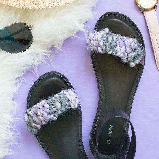 Woven Sandal Straps
