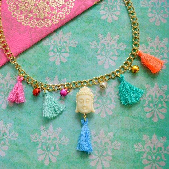 Bohemian Chic Tassel Necklace Diy Craftgawker