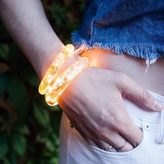 DIY Fairy Light Bracelet