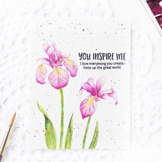 handmade watercolor card - Diy Greeting Cards
