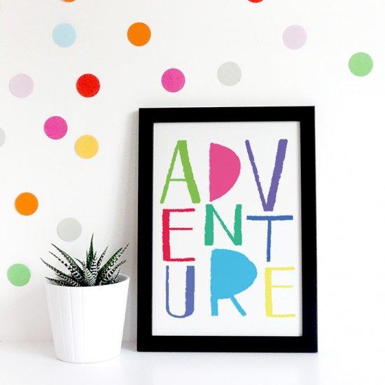 Free Adventure Nursery Print