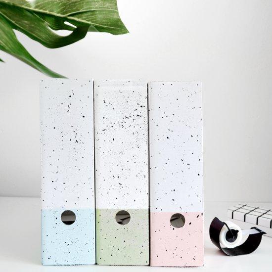 DIY Pastel Painted File Sorters