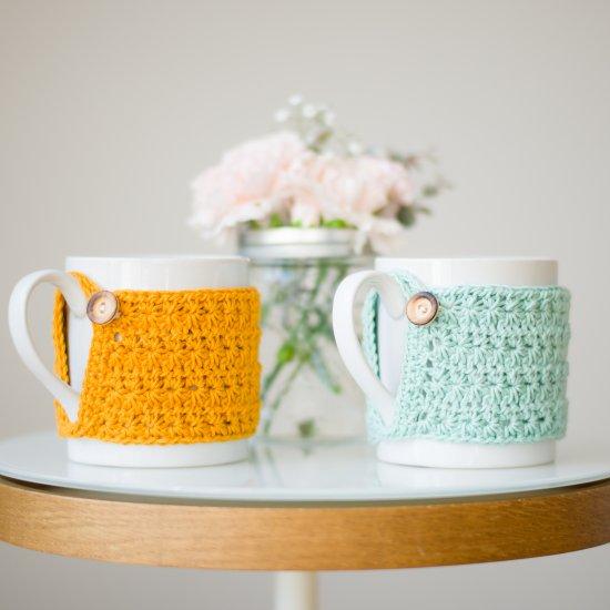 Star Stitch Cup Cozy