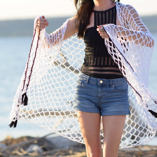 Crocheted Sarong