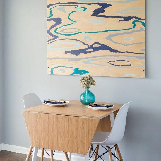 DIY Wood Grain Painting