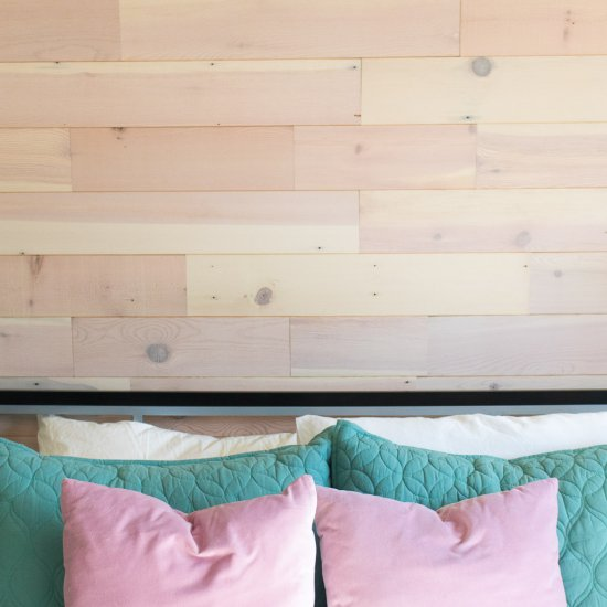 Plank Accent Wall