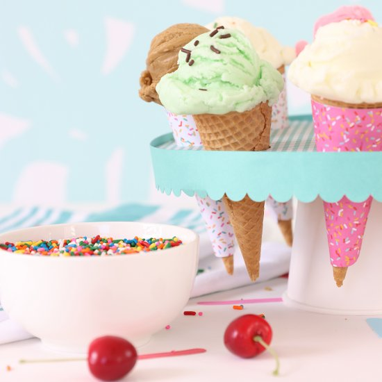 Craft Your Own Ice Cream Social
