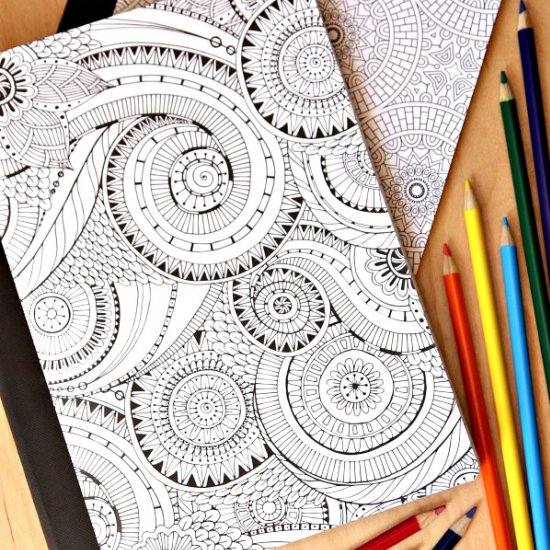 Extreme Coloring Notebooks