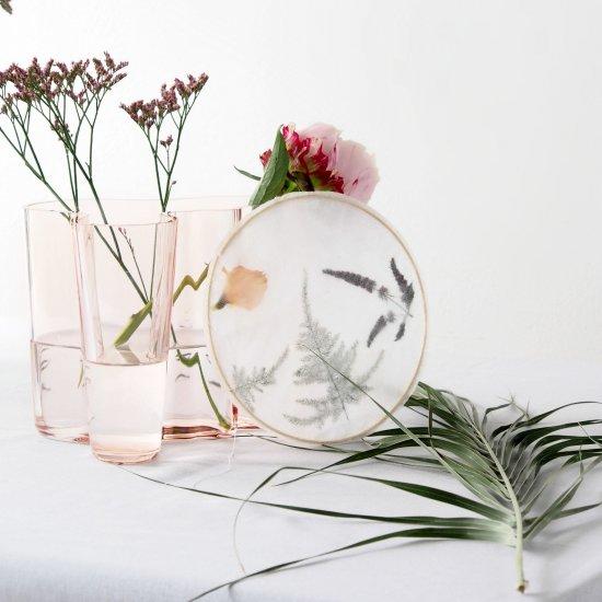 DIY Floral Suncatchers