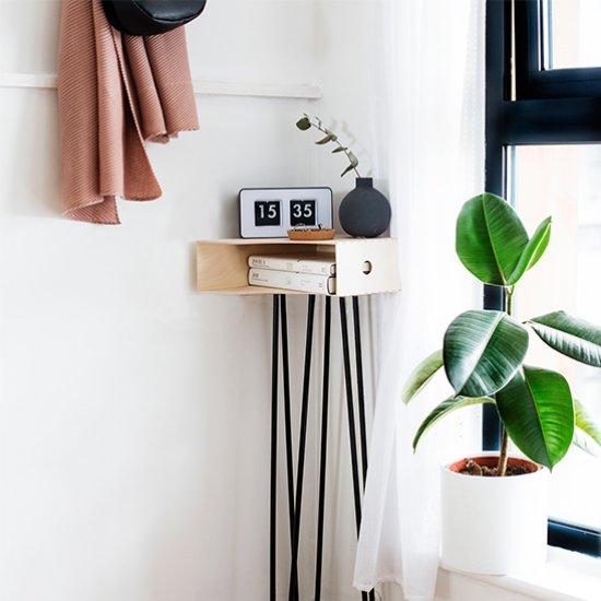 DIY Hallway Storage