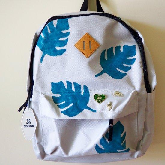 Monstera Leaf Backpack