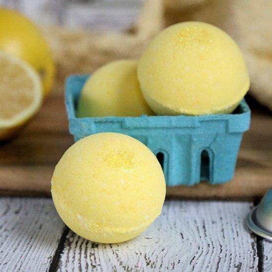 Lemonade Bath Bombs