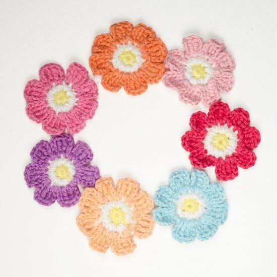Crochet Flower Gallery Craftgawker