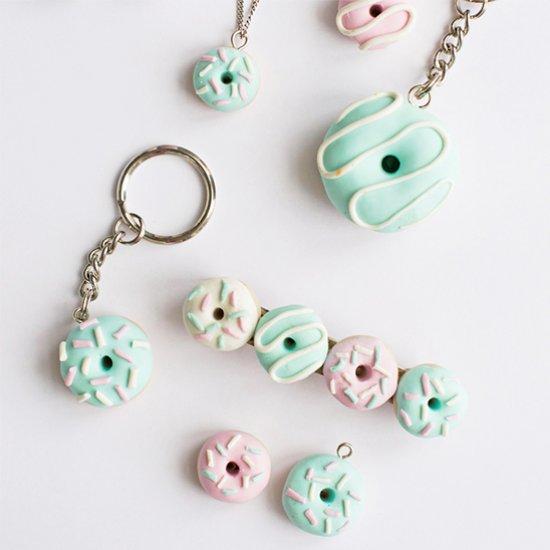 DIY Clay Donut Accessories Tutorial