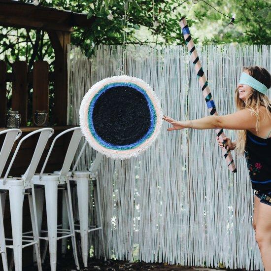 DIY Solar Eclipse Piñata