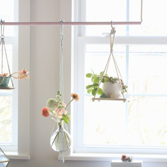 How to Make a Hanging Plant Bar