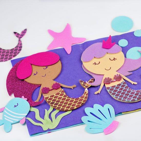 Books magazines gallery craftgawker page 4 mermaid felt quiet book tutorial solutioingenieria Images