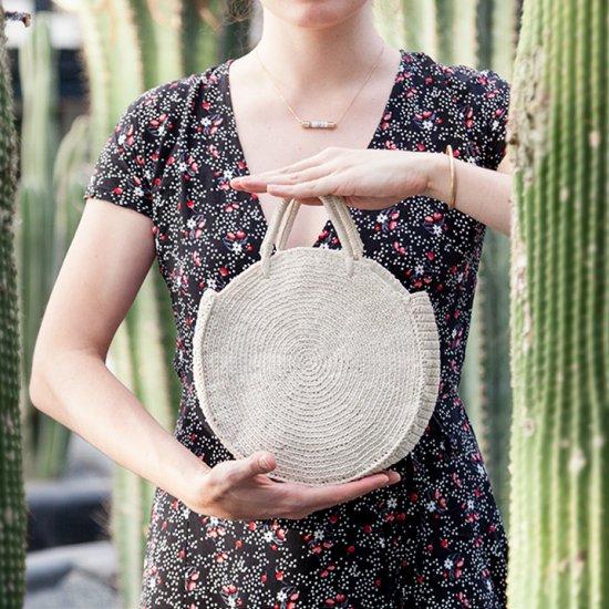 Diy Round Crochet Bag Craftgawker
