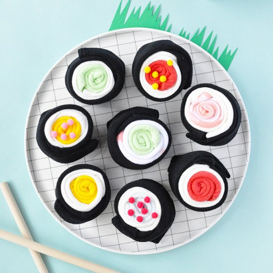 DIY Sushi Socks