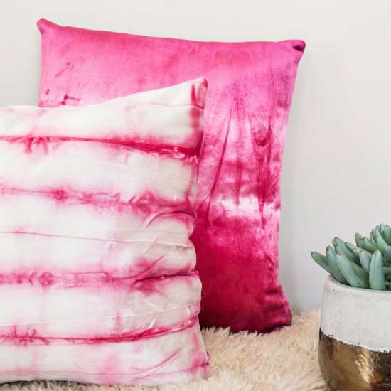 Velvet Pillow DIY