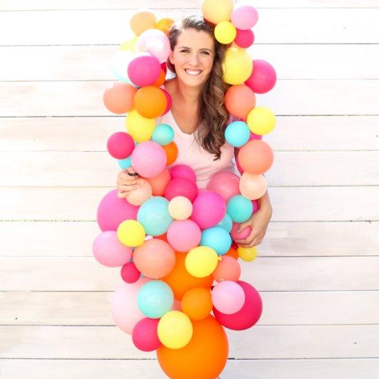 Balloon Garland Halloween Costume