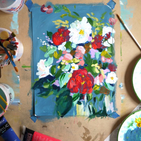 Step By Step Floral Painting
