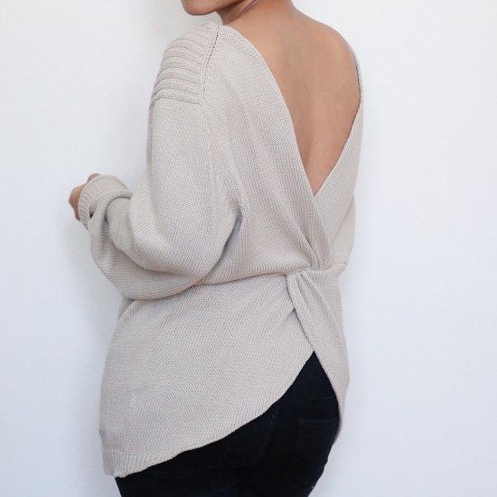DIY Twisted Sweater Refashion